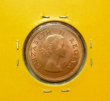 B211 - South Africa 1/4 Penny Coins (1959) - UNC/BU
