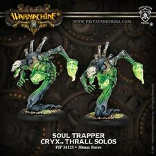 Privateer Press Warmachine Cryx Soul Trapper Thrall Solos (2) PIP 34123