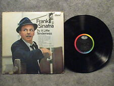 33 RPM LP Record Frank Sinatra Try A Little Tenderness Capitol Records PC-3452
