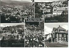 """Ansichtskarte Zella-Mehlis """"Krankenhaus, Lerchenberg, Gaststätte Stadt Suhl"""" s/w"""