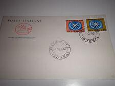 """ITALIA 1967 """"ANNO INTERNAZ. TURISMO"""" FDC CAVALLINO (CAT.X)"""