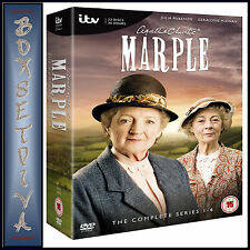 MARPLE - AGATHA CHRISTIES COMPLETE SERIES 1 2 3 4 5 & 6 **BRAND NEW DVD BOXSET**
