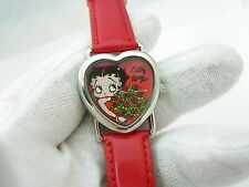 BETTY BOOP, Heart Shaped Dial, Lovely, KIDS/LADIES WATCH,248,L@@K!