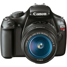 Canon T3 12.2MP Digital SLR Camera with 18-55mm IS Lens, 75-300mm Lens, Bag