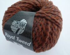 Lana Grossa Royal Tweed 50g Fb 078 zimt meliert
