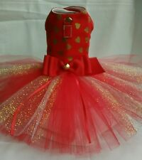 ❤ Valentine's day  HARNESS DRESS DOG/CAT Size available are XXS *XS and Small
