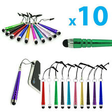 Hot Sale 10x Metal Stylus Screen Touch Pen For iPhone IPad Tablet PC Samsung HTC
