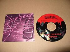 Wipers Over The Edge cd 11 tracks 1986 Rare