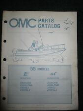 evinrude hp outboard 1982 omc johnson evinrude outboard parts catalog manual 55 hp worktwin workhorse