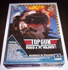 TOP GUN gioco pc originale completo aerei caccia simulazione game