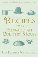 RECIPES FROM AN EDWARDIAN COUNTRY  - JANE FEARNLEY-WHITTINGSTALL (PAPERBACK) NEW
