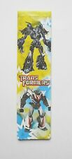 Transformers Sided Cardboard Magnetic Bookmark 4'' lenght (10cm) 1pcs