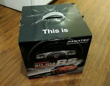 Fanatec Porsche GT3 RS Steering Wheel V2 and Standard Pedals