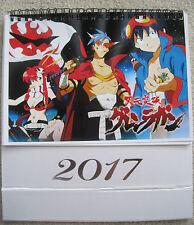 Tengen Toppa Gurren Lagann Anime / Manga 2017 Desk Calendar