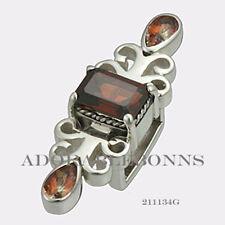 Authentic Lori Bonn Bonn Bons Silver Cinnamon Stick Slide Charm 211134G RETIRED