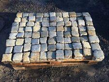 Schönes historisches Granitpflaster 9/11 cm grau Natursteinpflaster