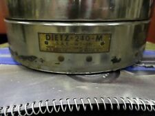 Vintage DIETZ 240-m Rotating  Emergency light Amber ,WORKS