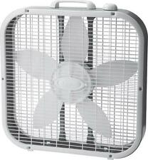 NEW LASKO 3733 20 INCH ELECTRIC USA MADE 3 SPEED BOX FAN WITH HANDLE 2299444