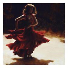 Spirit of Flamenco Art Print by Amanda Jackson - 11x11