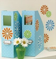 WALLIES FLOWERS wall stickers 25 colorful prepasted decals daisy design
