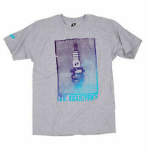 ONE Industries PLUG TEE Heather Grey / T Shirt - Size Mens Medium