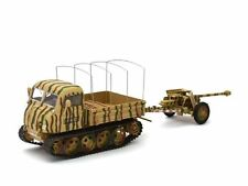 ATLAS 1/43 WWII Steyr Raupenschlepper Ost (RSO) with Pak 40 8th Panzer Division