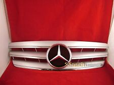 Mercedes  W203 Grill C230 C320 C240 c32 Grille C32 3 FIN Silver AMG