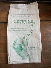 sac d'emballage aspirine usines du Rhône