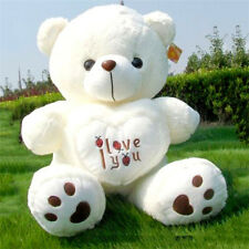 Lovely Large big I LOVE YOU Bear holds Hearts Special Plush toy teddy Bear 70cm