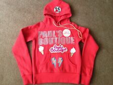 Paul's Boutique Hooded Sweatshirt Size S Pink Womens