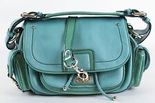 Marc Jacobs Blue Leather Shoulder Bag Handbag Purse