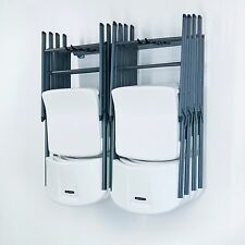 Chair Storage Rack Hanger Small Garage Home Wall Organizer Folding Monkey Bars