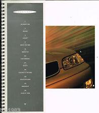 BIG / Beautiful 1995 LEXUS GS Dealer Sales Brochure / Catalog, Spiral Bound, '95