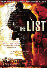 The List (DVD, 2008, Dual Side Sensormatic Widescreen)