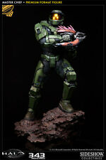 RARE SIDESHOW HALO MASTER CHIEF EXCLUSIVE PREMIUM FORMAT #3001391 new sealed