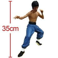 """13"""" Bruce Lee Action Figure Kung Fu Hero Enter the Dragon Collectible Model Toy"""
