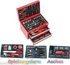 MANNESMANN 29066 Werkzeugkoffer bestückte Werkstattbox Werkzeugkasten 155tlg