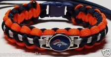 Denver Broncos; Manning Superbowl 50 Paracord Bracelet, Lanyard or Key Chain