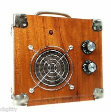 Beautiful All-Wood Cigar Box Guitar Amplifier #5 - Made in the USA! 52-06-05