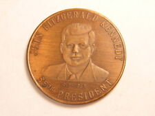 Bronze medal: President John F. Kennedy - the youngest elected