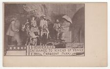 CRESCENT PARK AMUSEMENT PARK Rhode Island PC Postcard EAST PROVIDENCE RI Rivers
