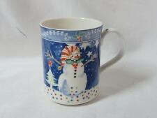 "Epoch by Noritake Mr Snowman Mug 4"" high"