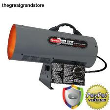 30K - 60K LP Gas Forced Air Space Heater Outdoor Portable Propane Garage Torpedo