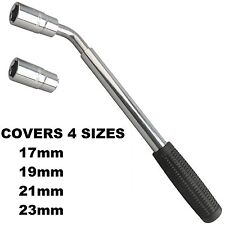 Extendable Wheel Telescopic Car Van Brace Socket Tyre Nut Wrench 17 19 21 23mm
