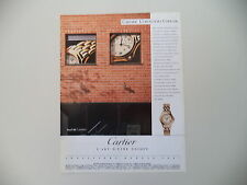 advertising Pubblicità 1990 CARTIER COUGAR