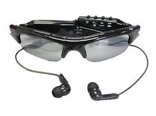 Sunglasses w/ MP3 Player & Camera