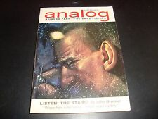ANALOG Magazine July 1962 Science Fiction Digest Pulp Magazine John Brunner FN