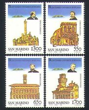 San Marino 1988 University/Buildings/Architecture/Education 4v set (n32556)