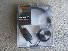 New Sony MDR-ZX300 Studio Monitor High Power Magnet Stereo Headphones Black