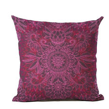 Bohemian Boho Mandala Pattern Complete Pillow Case + Insert * Throw Accent Decor